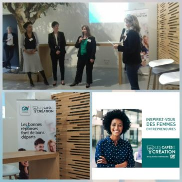 Cafés de la création – édition spéciale Journée de la femme 2019