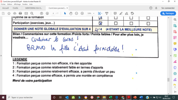 témoignages Anne-Helene Labissy Coach professionnel Toulouse