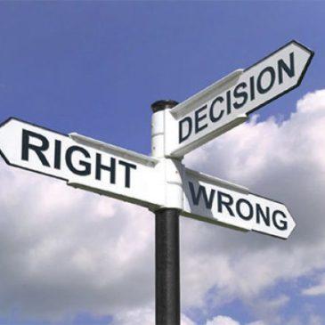 Décider comment décider